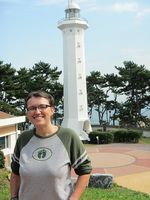 Me vs. lighthouse