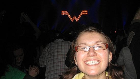 Me vs. Weezer lights