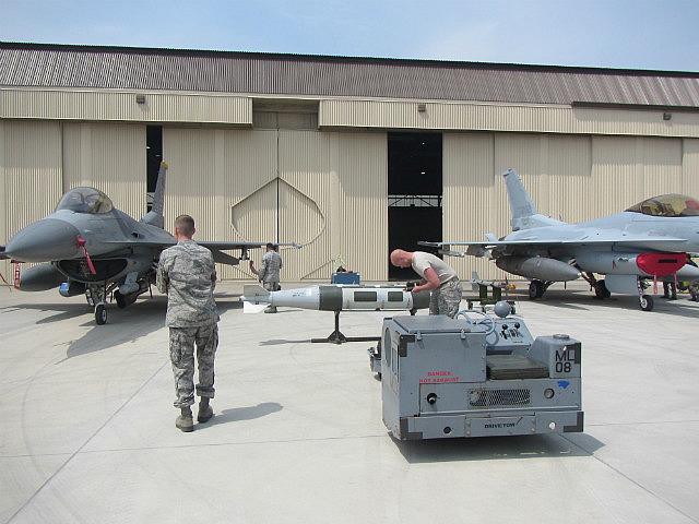Bomb loading race