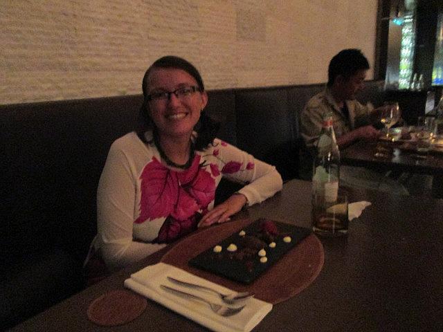 Me vs. dessert
