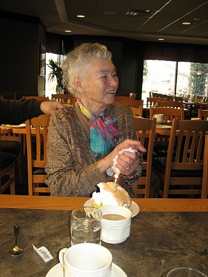 Grandma vs. lemon meringue pie