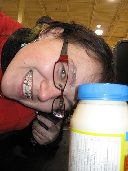Me vs. mayonnaise
