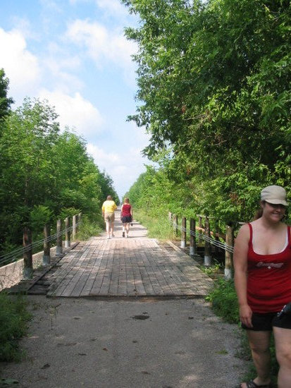 Hike near Bonita Glen, Trinette Bonnie