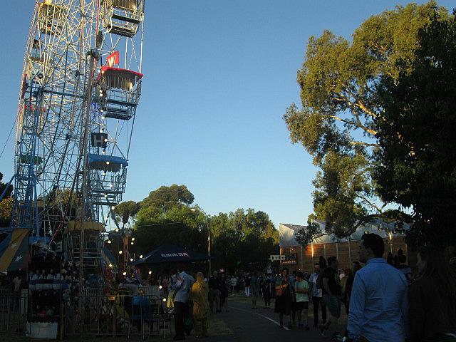 Fringe Festival ferris wheel