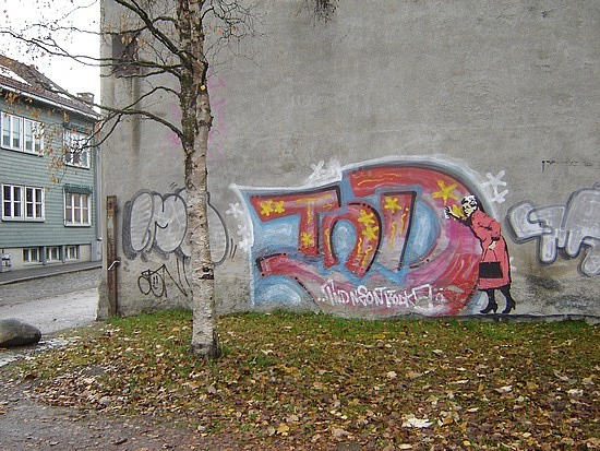 Graffiti in Trondheim