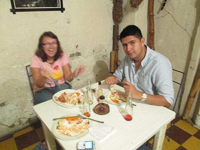 Me and Johnny at Casa Tipico