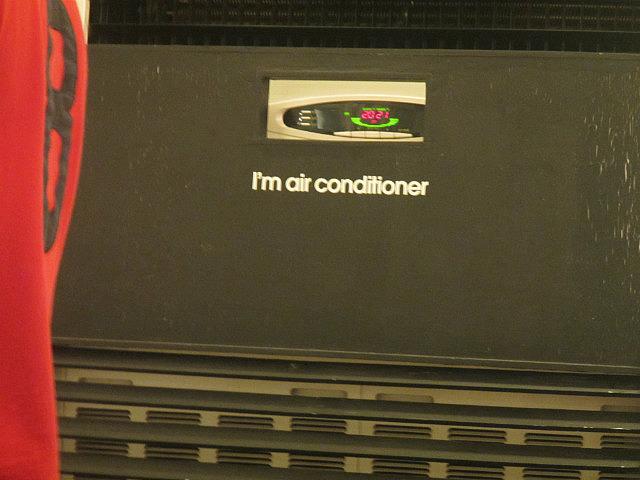 I'm air conditioner