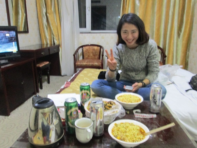 Mumu and our feast
