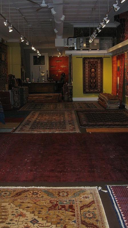 Persian rug shop