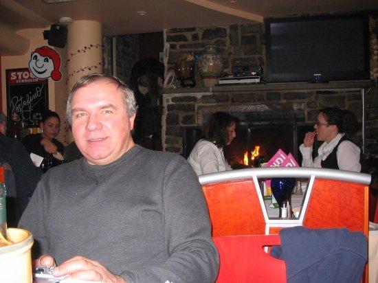 Dad at Portofino's