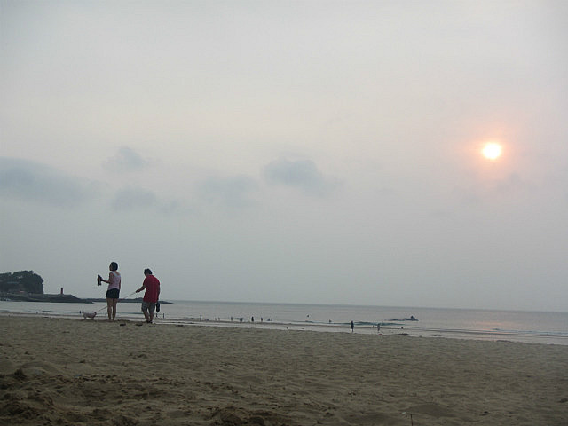 Sunset on Mallipo beach