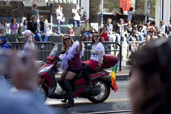 Motorcycle chicks