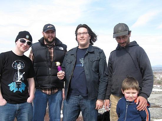 Nate, Andy, Keith, Ben, Rowan