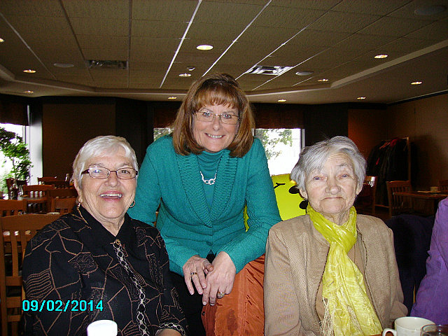 Irma, Aunt Diane and Grandma