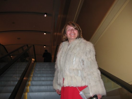 Me and ugly fur coat