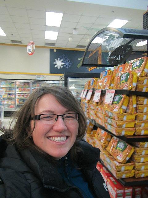 Me in America store