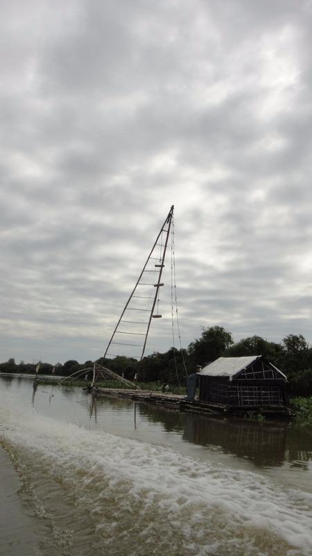 Boat to Battambang