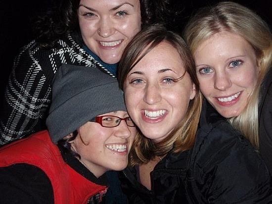 Kim, me, Carrie, Jamie
