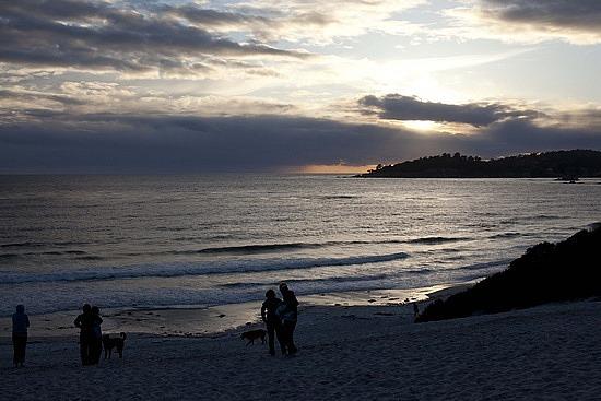 Sunset in Carmel