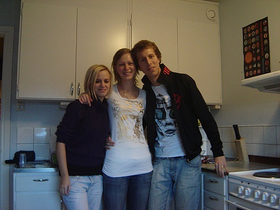 Caroline, Klara, Petter