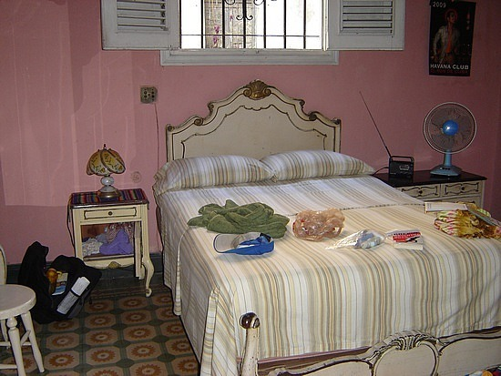 My room in Havana