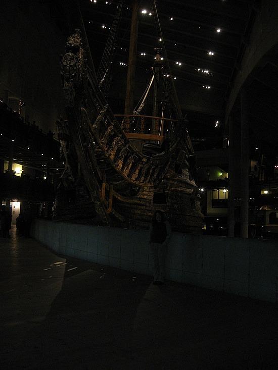 Me vs. giant boat