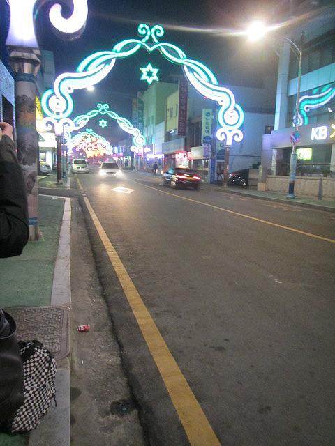 Mokpo at night