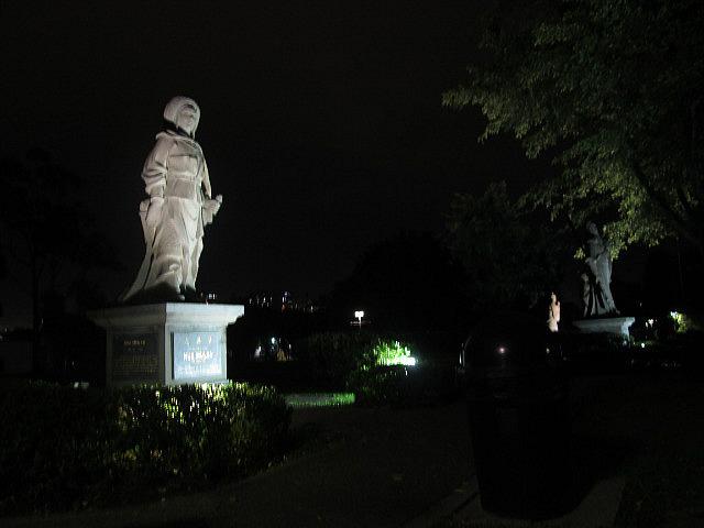 Mulan at night
