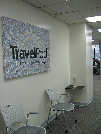 TravelPod office/Canadian New Media award