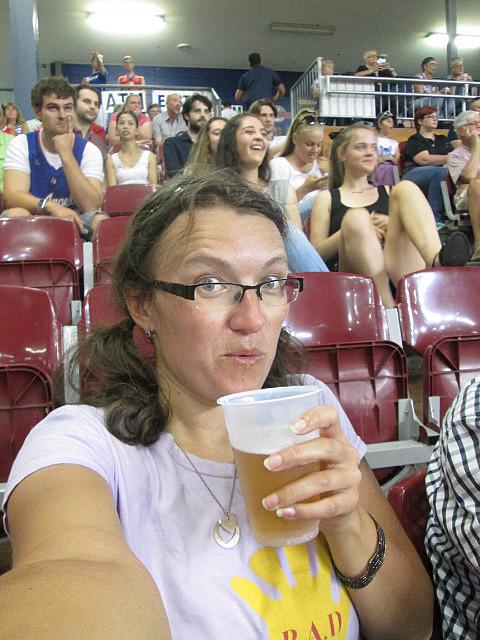 Me vs. Tasmanian beer