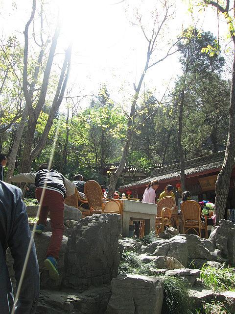 Poet's tomb garden