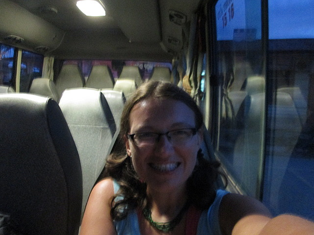 On the bus to Cao Bang