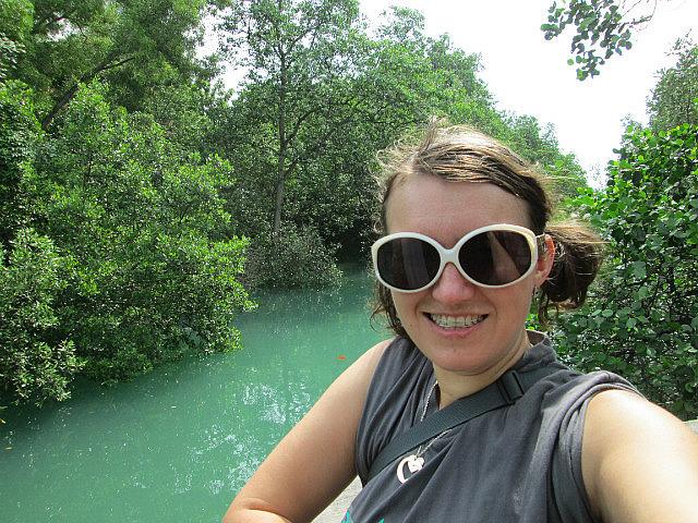 Me at Labrador Park mangrove