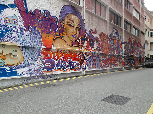 Only graffiti allowed in Singapore
