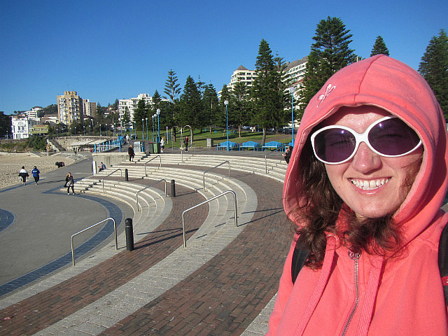 Me at Coogee Beach