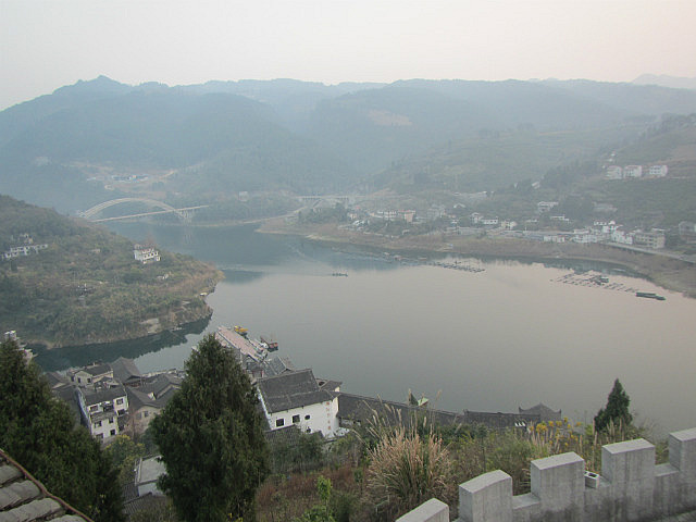 From the top of Furongzhen