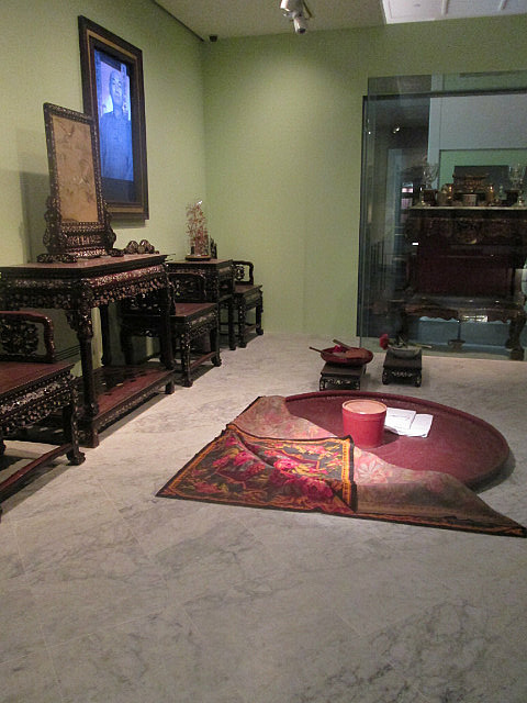 Peranakan living room