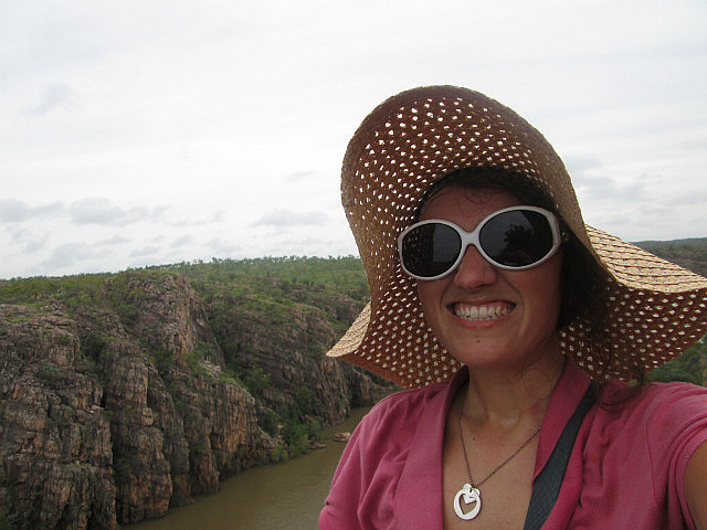 Me at Katherine Gorge