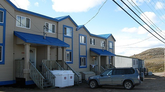 Typical suburban house in Iqaluit