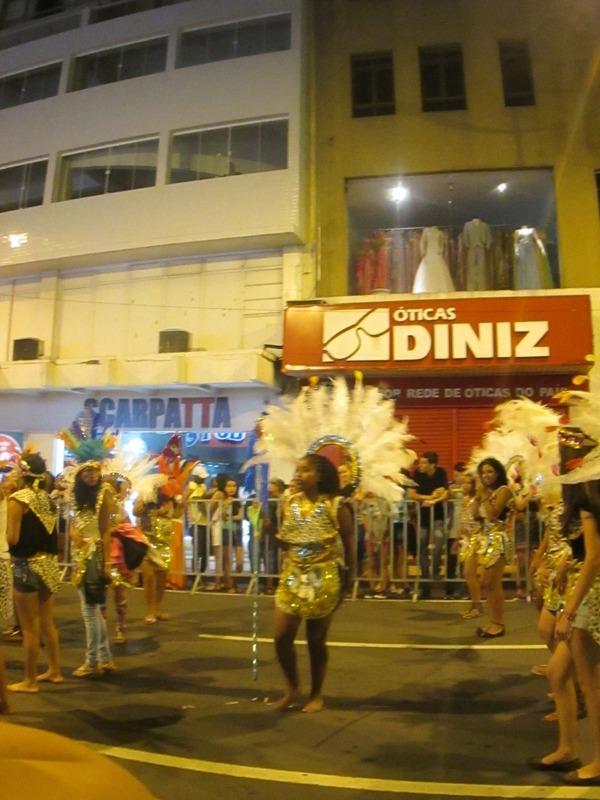 Carnaval parade, Ponta Grossa