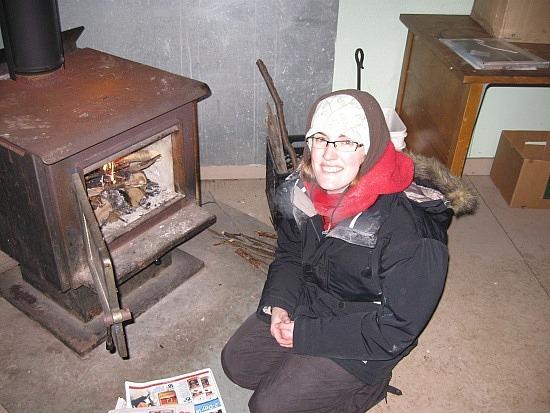 Erin vs. the fire