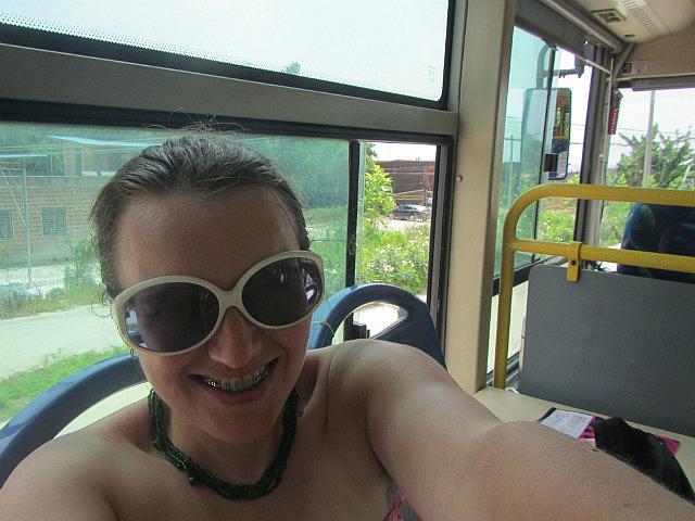 On the bus again