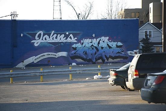 Graffiti in Sault Ste. Marie