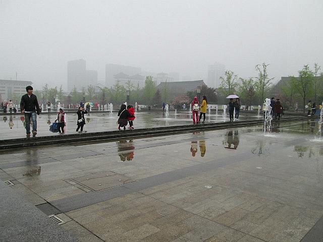 Giant fountain