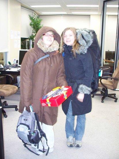 Me and Rachel 2