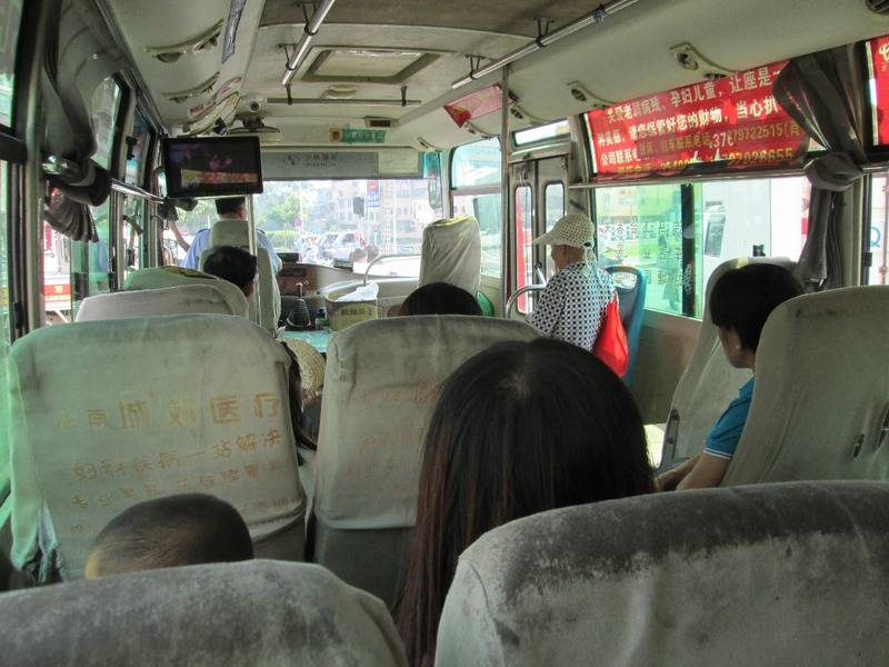 The bus to the castle