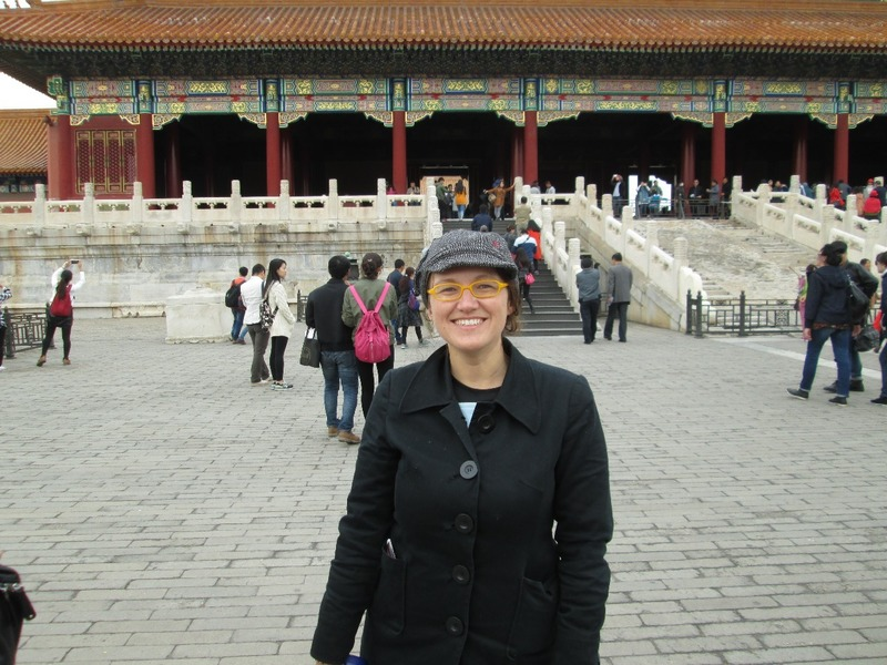 Me at forbidden palace