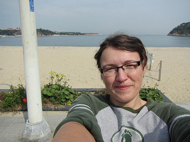 Me vs. Ulsan beach