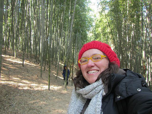 Me vs. bamboo
