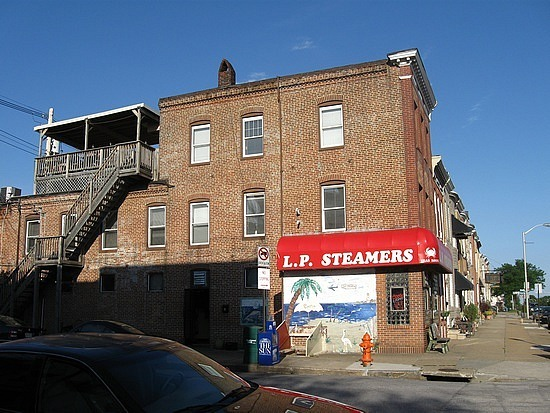 LP Steamers, we ate on the back deck